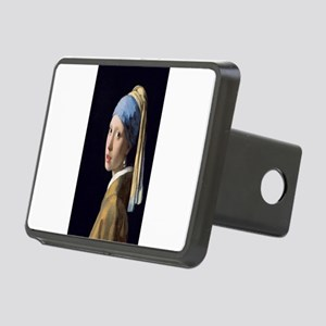 Johannes Vermeer's Girl wi Rectangular Hitch Cover