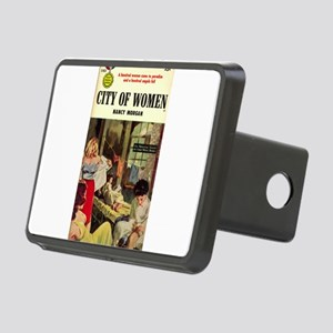 city of women Rectangular Hitch Cover
