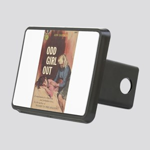 odd girl out Rectangular Hitch Cover