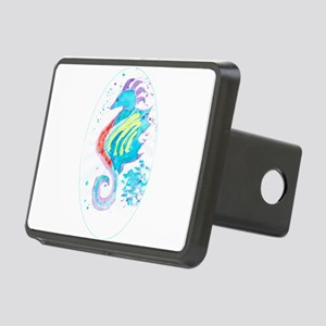 Seahorse cheval de mer Rectangular Hitch Cover