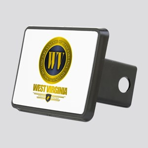 West Virginia Gold Label Rectangular Hitch Cover