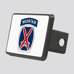 10th Mountain Rectangular Hitch Cover