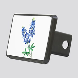 Watercolor Bluebonnet 1 Rectangular Hitch Cover