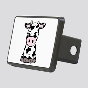Cute Cartoon Cow Rectangular Hitch Cover