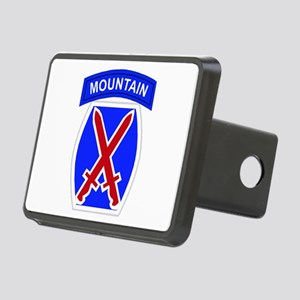 10th MOUNTAIN DIVISION Rectangular Hitch Cover