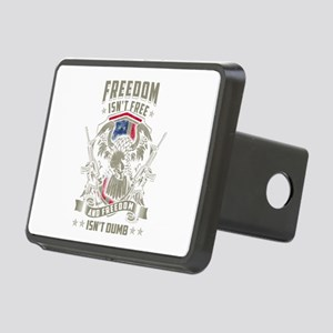 Freedom isn't Free, and Fr Rectangular Hitch Cover