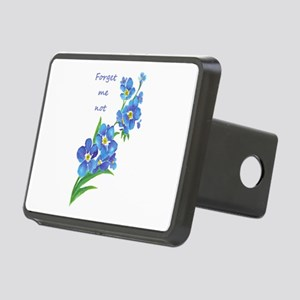 Forget-Me-Not Watercolor F Rectangular Hitch Cover