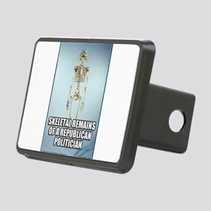 Republican Skeletal Remain Rectangular Hitch Cover