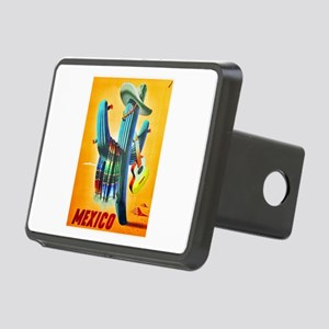 Mexico Travel Poster 10 Rectangular Hitch Cover