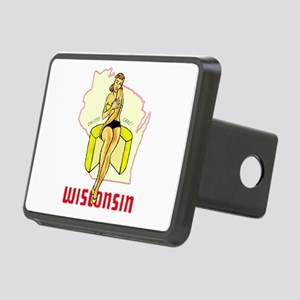 Vintage Wisconsin Pinup Hitch Cover