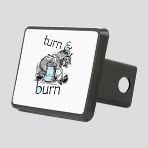 Turn and Burn Barrel Racing Hitch Cover