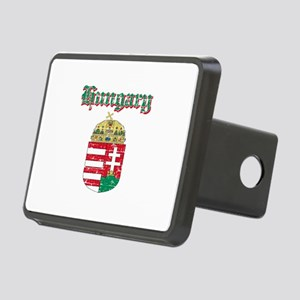 Hungary Coat of arms Rectangular Hitch Cover