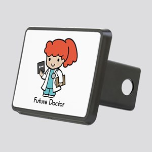Future Doctor - girl Rectangular Hitch Cover