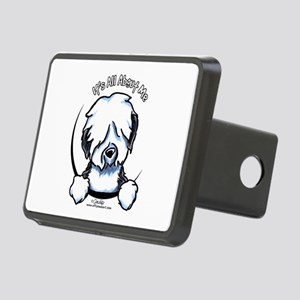 Old English Sheepdog IAAM Rectangular Hitch Cover