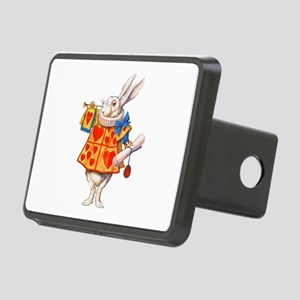 ALICE - THE WHITE RABBIT Rectangular Hitch Cover