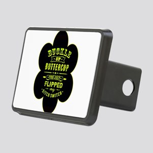 Buckle up buttercup Rectangular Hitch Cover