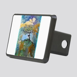 tree ! tree of life, art! Rectangular Hitch Cover