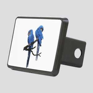 Hyacinth macaws Rectangular Hitch Cover