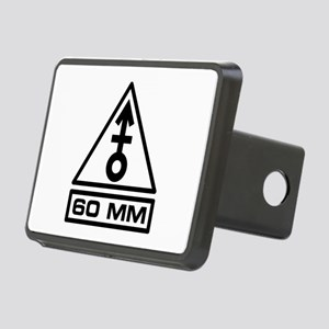 60mm Warning (B) Rectangular Hitch Cover