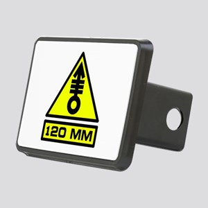 120mm Warning Rectangular Hitch Cover