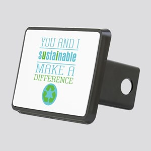 You and I Sustainability Rectangular Hitch Cover