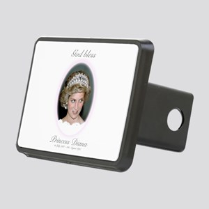 God Bless Princess Diana Rectangular Hitch Cover