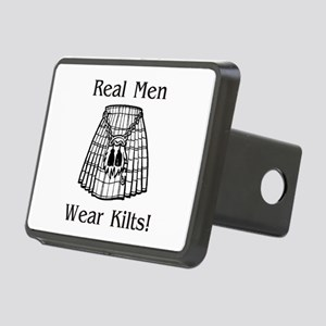 Real Men Wear Kilts Rectangular Hitch Cover