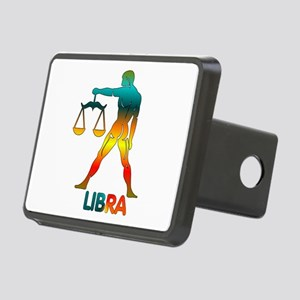 Rainbow Libra Rectangular Hitch Cover