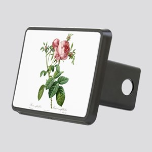Lovely vintage pink rose Rectangular Hitch Cover