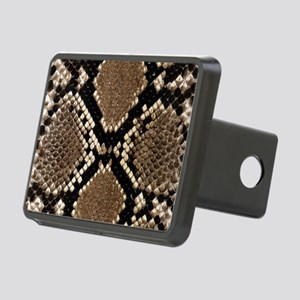 Snake Skin Rectangular Hitch Cover