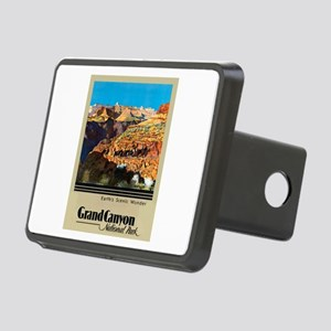 Grand Canyon Travel Poster 2 Rectangular Hitch Cov
