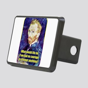 Vincent van Gogh - Art - Quote Hitch Cover
