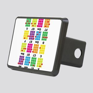 Uke Chord Cheat Tee Colorful Rectangular Hitch Cov