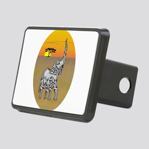 Trumpeting Elephant Hitch Cover