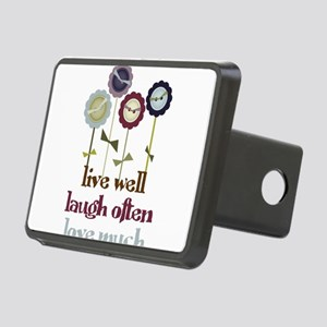 Live Well Rectangular Hitch Cover