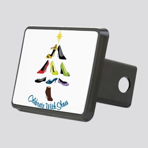 Celebrate With Shoes Rectangular Hitch Cover