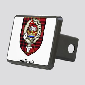 McDonald Clan Crest Tartan Rectangular Hitch Cover