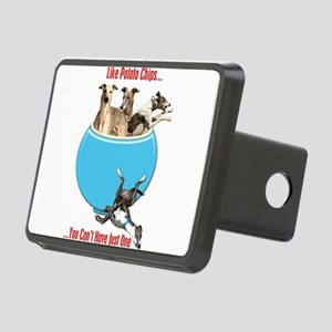 Greyhounds Like Potato Chi Rectangular Hitch Cover