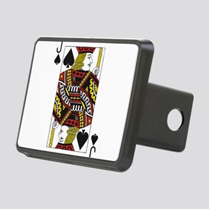Jack of Spades Rectangular Hitch Cover