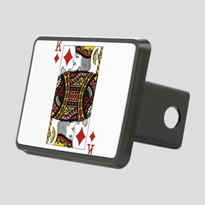 King of Diamonds Rectangular Hitch Cover