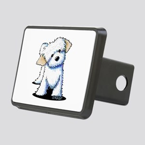 Havanese Rectangular Hitch Cover