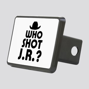 'Who Shot J.R.?' Rectangular Hitch Cover