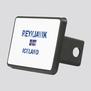 Reykjavik Iceland Designs Rectangular Hitch Cover