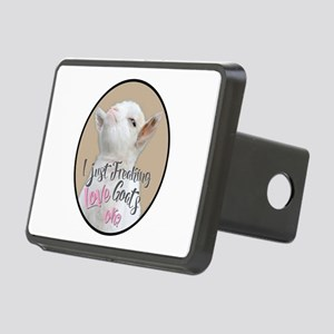 GOAT | Just Freaking LOVE Rectangular Hitch Cover