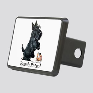 Scottish Terrier Beach Patrol Rectangular Hitch Co