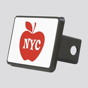 New York CIty Big Red Apple Rectangular Hitch Cove