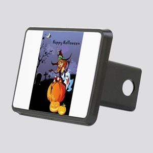 Halloween theme design ill Rectangular Hitch Cover