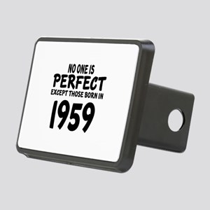 No One Is Perfect Except T Rectangular Hitch Cover