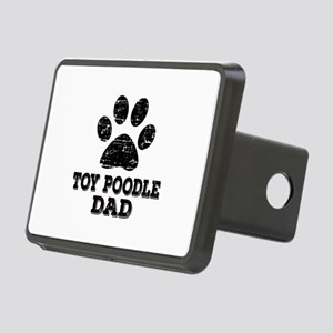 Toy Poodle Dad Rectangular Hitch Cover