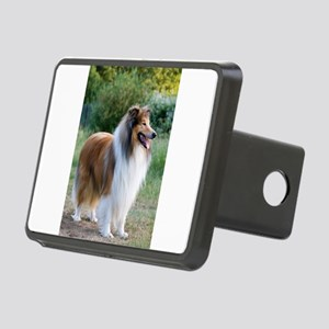 rough collie full 5 Hitch Cover